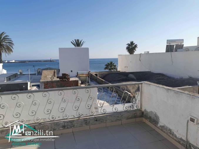 Maison 100 m²  2ème position  plage la florida Kelibia