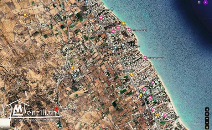 Terrain Vue De Mer 4800M² Prés de Ksour Gharnata