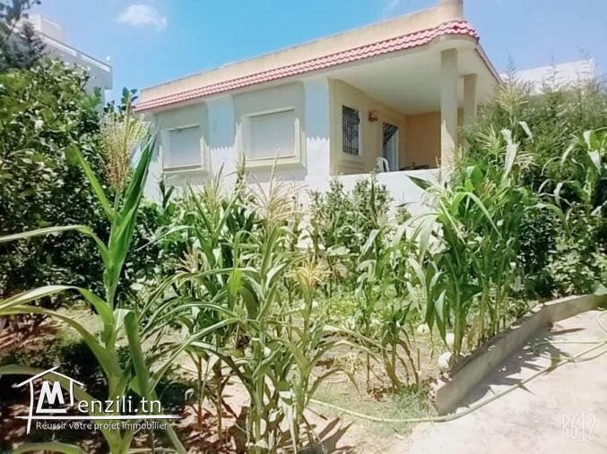 #vente d'une villa et terrain fruitiers