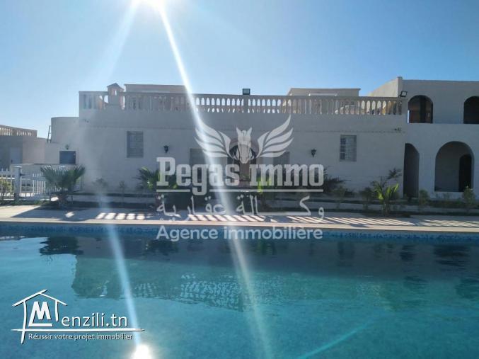 À Louer Une Maison D'hôte Prestigieuse À Deux Minutes De La Plage Sidi Jmour
