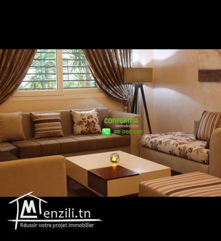 Appartement s+2 à louer par nuitée à manzah 7