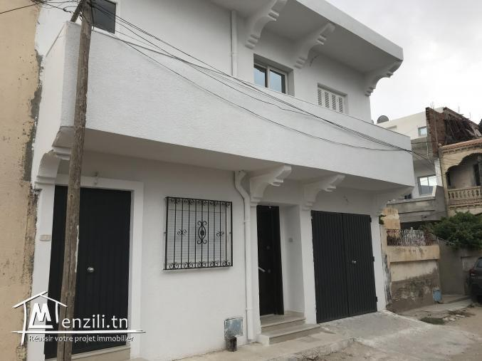 Maison avec étage 2 entrées indépendantes