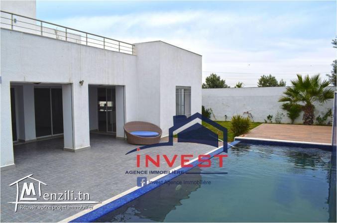 Villa avec piscine et jardin à la Soukra