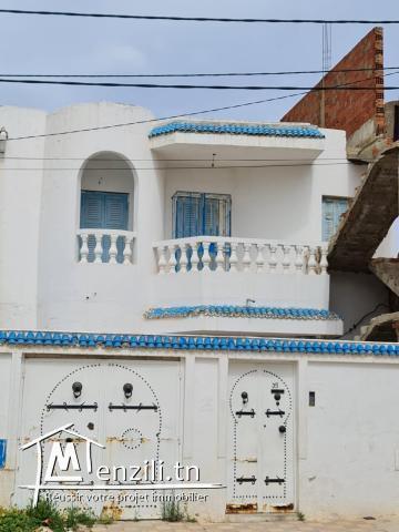 Maison à louer à Sahloul Sousse non meublée