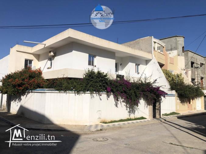 vente une villa style américain  à bouhsina