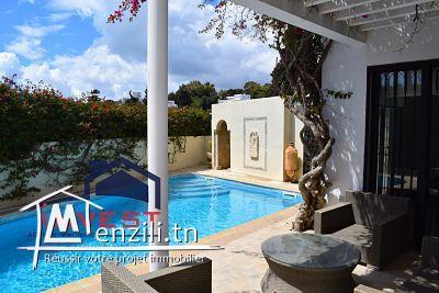 Villa avec piscine et jardin à Carthage Hannibal