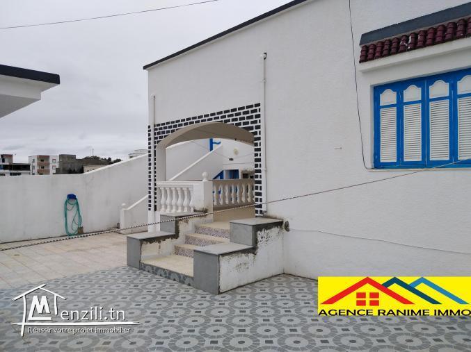 Villa ds 215m2 à la plage el haouaria cap bon