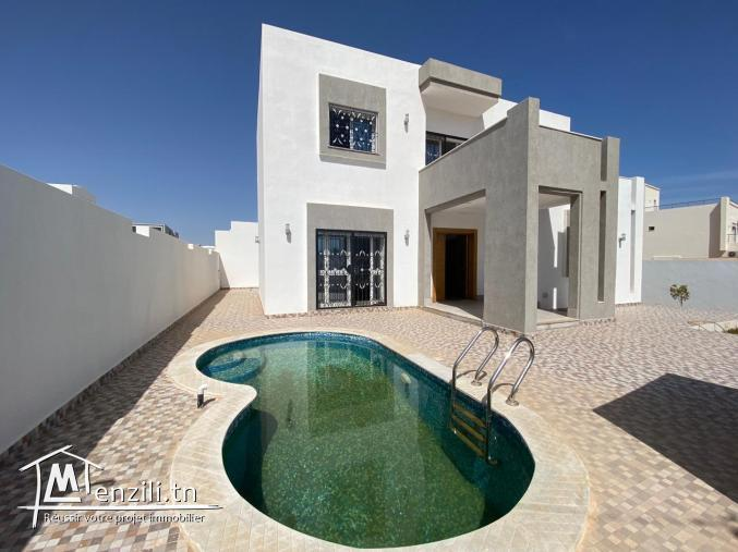 A vendre une Villa vue de mer Ghizen Djerba Zone Urbaine