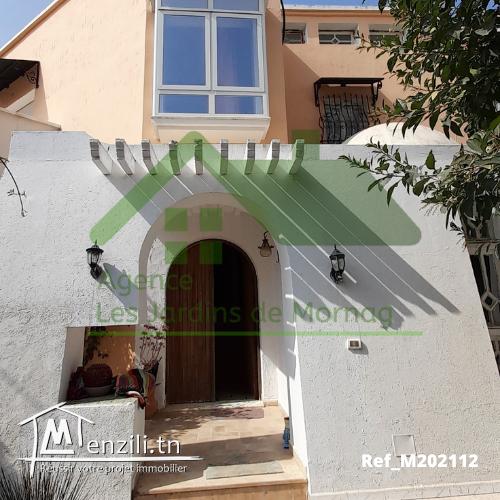 Une villa d'une superficie de 501m² à Boumhel Bassatine