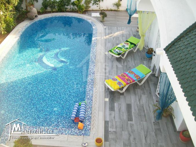 A #Louer Une Luxueuse #Villa S+3 À #hammamet