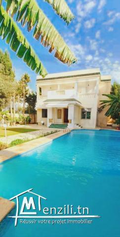 Magnifique à vendre  villa à La Marsa