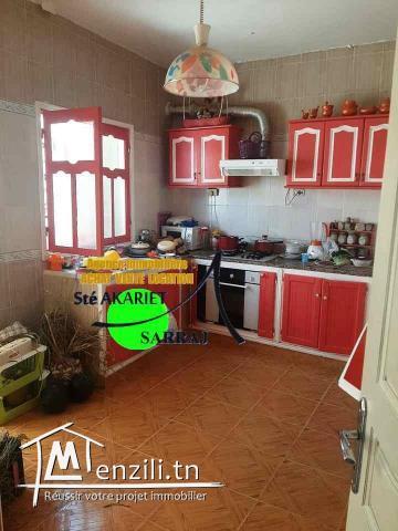Petite Maison indépandant S2 Avec Garage Prés de Lycée Akouda