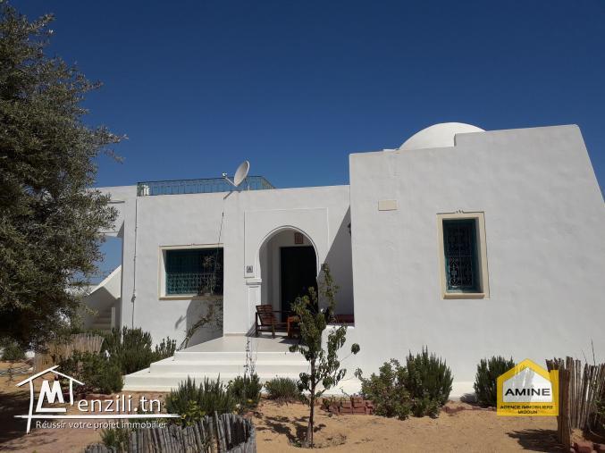 location d'une villa meublée (s+2) à Tezdaine Midoun Djerba