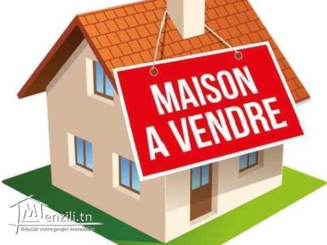 A Vendre Maison de 150 m2  A Hammam Sousse