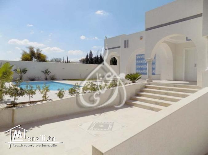 Villa somptueuse à Yasmine Hammamet