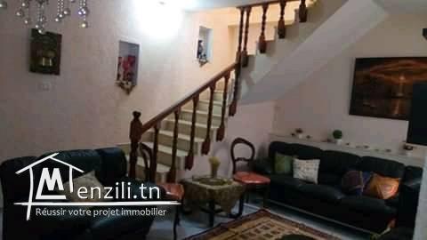 Belle maison style américain au centre de Bizerte