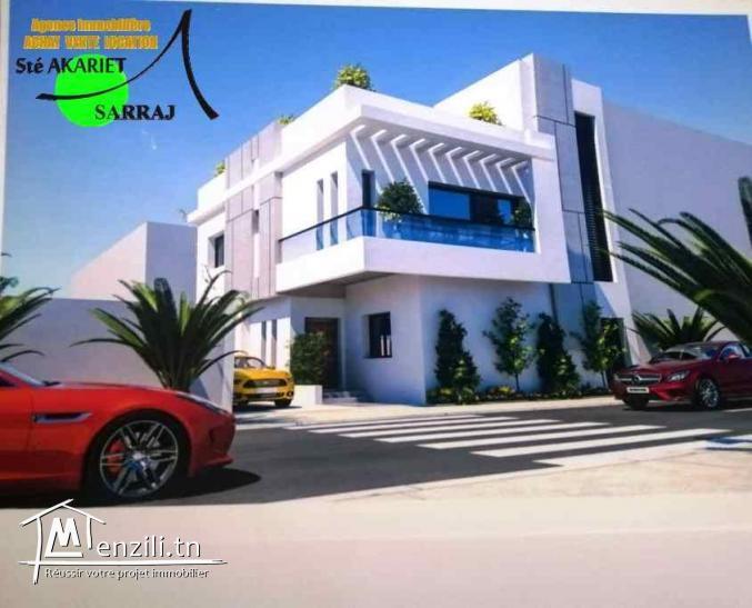 Villa En Cours De Construction à Sahloul (4)