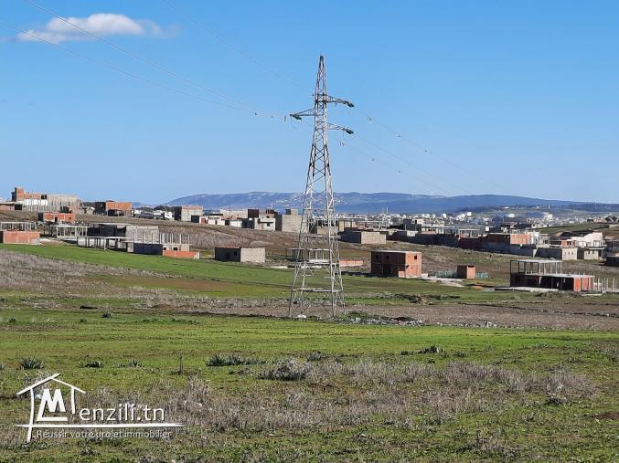 Terrain à Bizerte dans un havre de paix