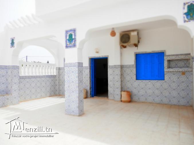 2 maisons meublées vue sur mer à Djerba Tezdaine