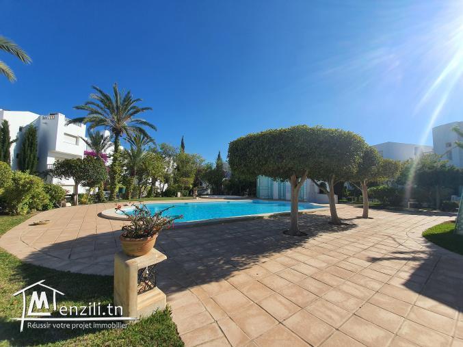villa s+4 de 369m² sur terrain de 299m² à la marina Yasmine Hammamet