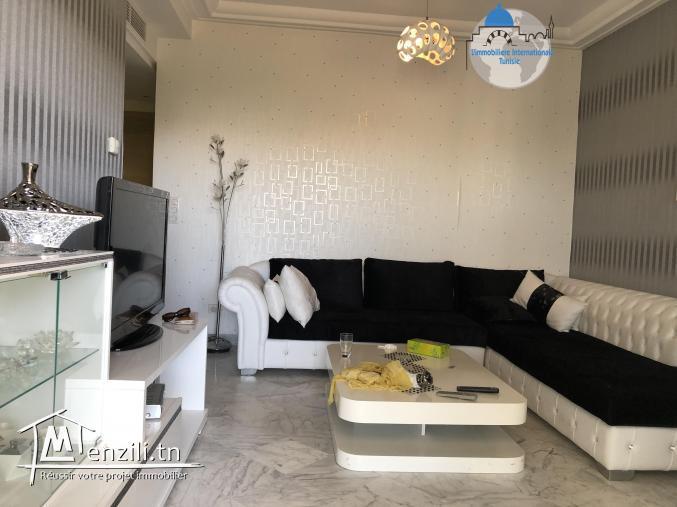vente un magnifique appartement S+1 à zone touristique Front de mer
