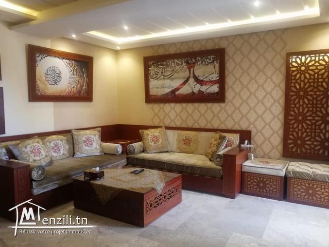 magnifique appartement à vendre meublé