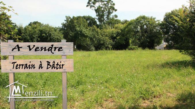 A Vendre terrain de 817m² à 2 min de La Closerie, Bhar Lazrek