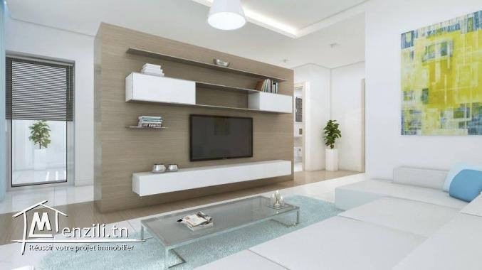vendre des appartements dans une Résidence R+7 de haut standing située à AIN ZAGHOUAN