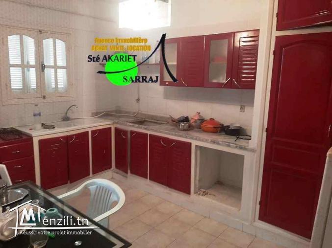Alerte Un Appartement S+2 Prés Clinique Essalem
