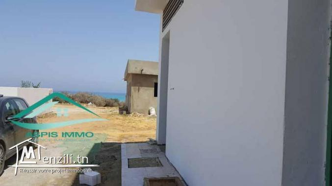Maison S+2 situé en 2ème position de plage Ezzahra