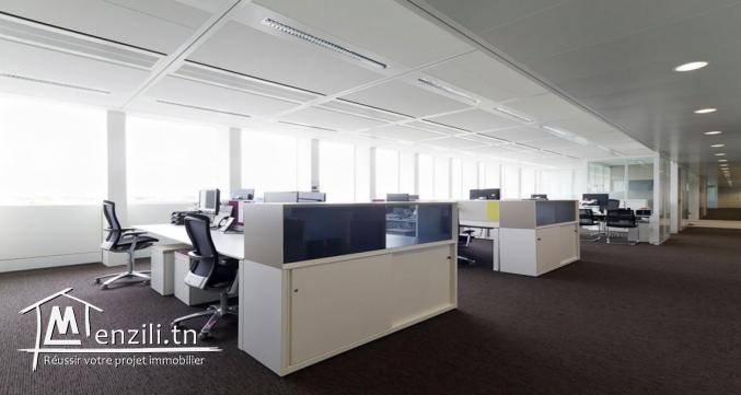 locaux pour bureautique en open space