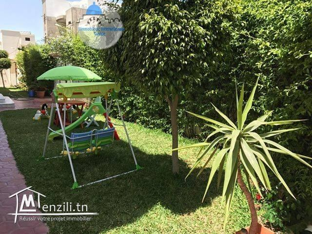 location estivale un coquette appartement au RDC S+2 meublé