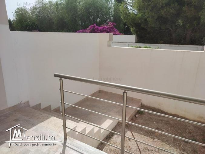 A Vendre appartement s2 avec jardin à 2 min de Carrefour, la Marsa