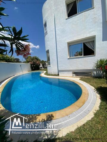 A Louer maison de vacances avec piscine à Hammamet