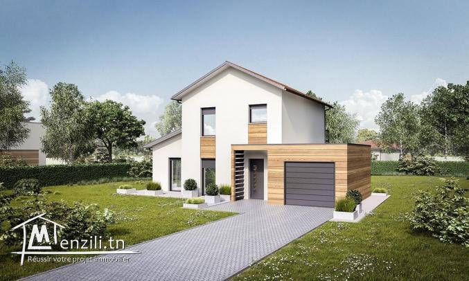 A Vendre villa s4 avec jardin à Cité Les Pins, La Marsa
