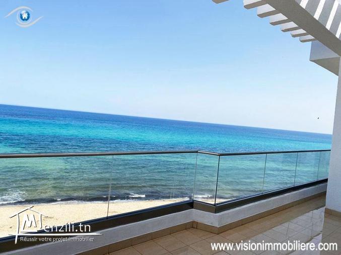 Vacances Appartement pied dans l'eau Mouna S+3