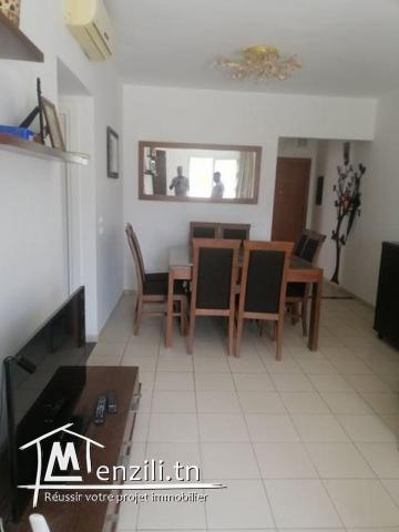 coquet appartement S+3 a borj ghorbel