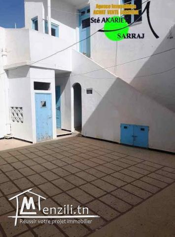 Maison Arabe S+5 Sur La Route Principale De Hammem Sousse