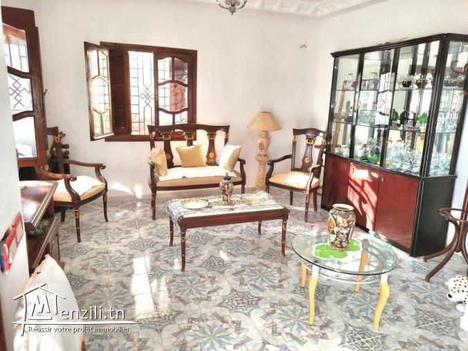 Villa à vendre 2S+3  ( Sidi Amor route de Raoued-plage)