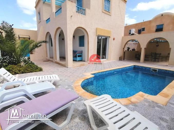 Villa de vacances à Djerba - avec piscine privée