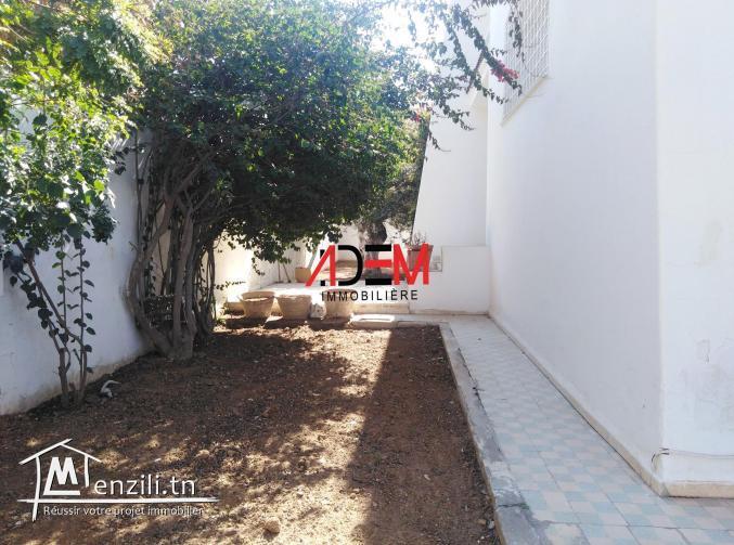 Villa style américian à Khzema de 600m² avec jardin et garage