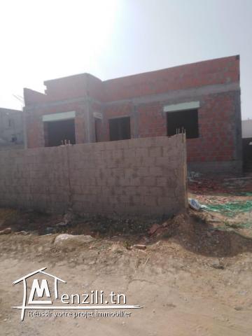 Maison Inachevé à Jardin Menzah 3