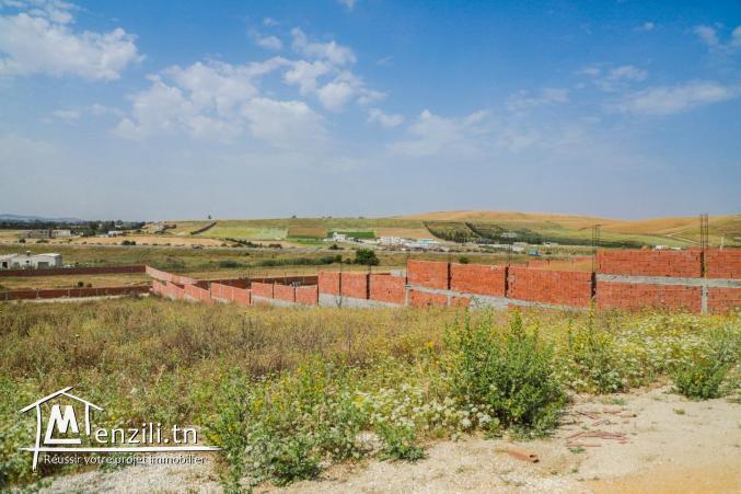 Superficie 150m²  à chorfech sidi thabet département ariana -tunis: