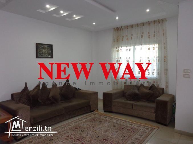 Villa à Sahloul 4 de plain pied dans une zone Calme