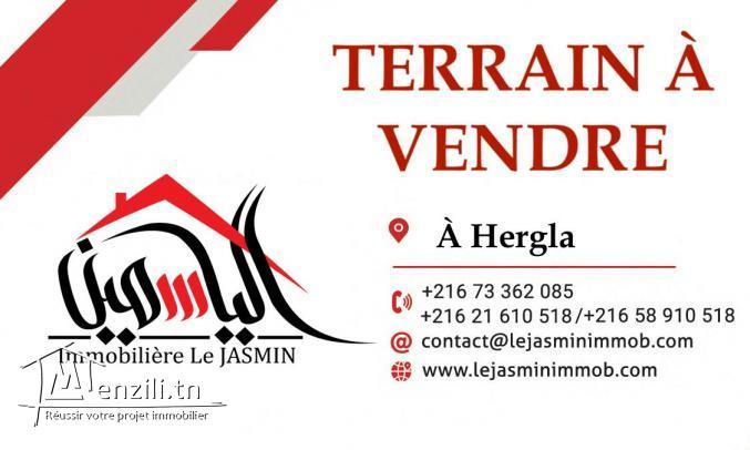 Terrain pour villa à A.F.H Hergla