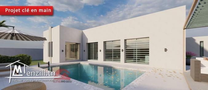 Djerba TUN: nouveau projet de villa avec piscine privée