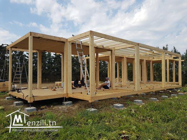 Construction Maison en Bois Massive finlandais