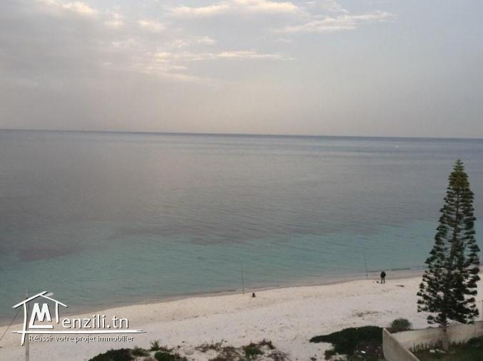 Magnifique (S+3) #splendide vue de mer# à Chot Mariem, résidence pied dans l'eau