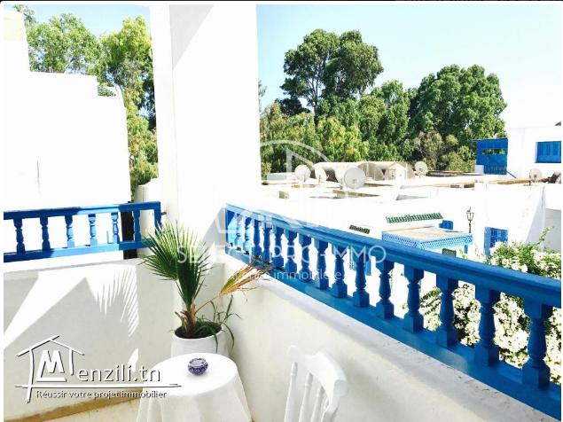 Un étage de villa à Hammamet. Réf345a
