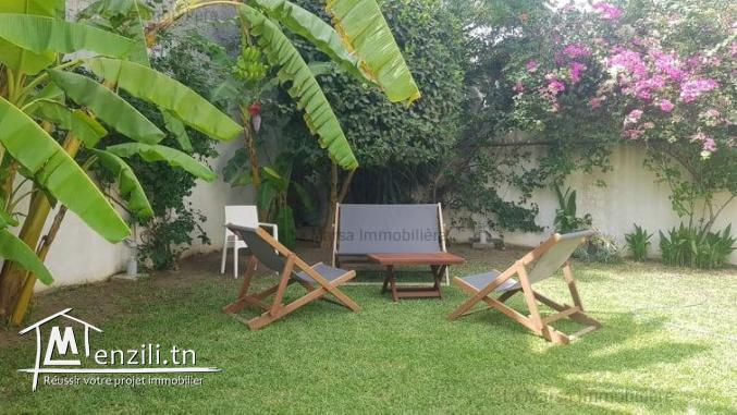 A Vendre villa s3 avec jardin à Sidi Daoued, La Marsa
